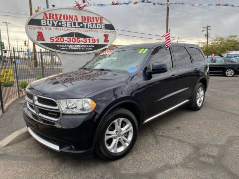 2011 Dodge Durango for sale at Arizona Drive LLC in Tucson AZ