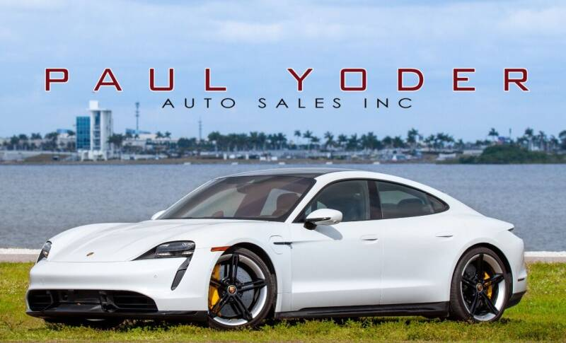 2020 Porsche Taycan for sale at PAUL YODER AUTO SALES INC in Sarasota FL