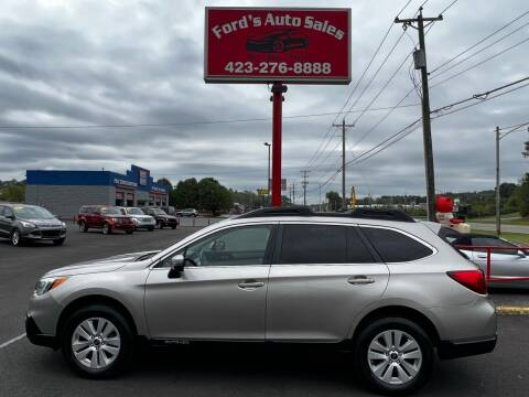 2016 Subaru Outback for sale at Ford's Auto Sales in Kingsport TN