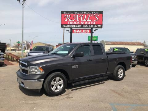 2018 RAM Ram Pickup 1500 for sale at RAUL'S TRUCK & AUTO SALES, INC in Oklahoma City OK