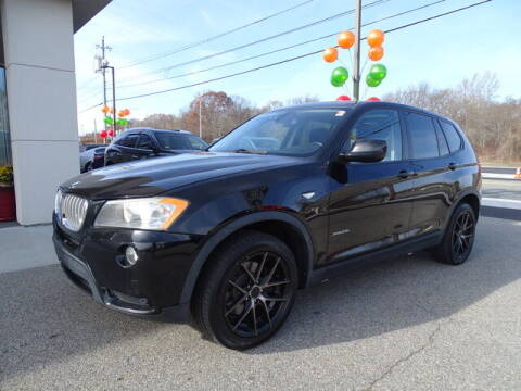 2011 BMW X3 for sale at KING RICHARDS AUTO CENTER in East Providence RI