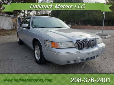 1998 Mercury Grand Marquis for sale at HALLMARK MOTORS LLC in Boise ID