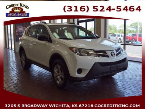 2014 Toyota RAV4 for sale at Credit King Auto Sales in Wichita KS