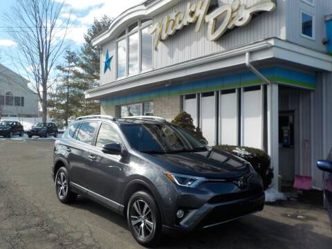 2018 Toyota RAV4 Hybrid for sale at Nicky D's in Easthampton MA