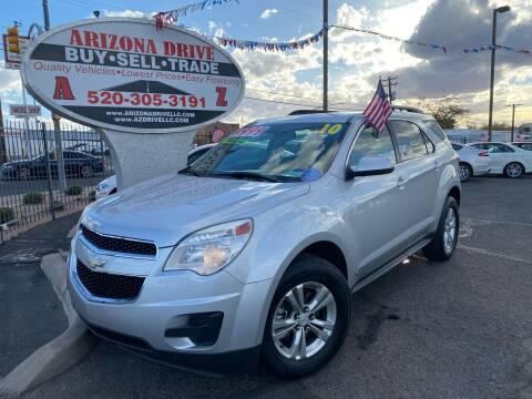 2010 Chevrolet Equinox for sale at Arizona Drive LLC in Tucson AZ