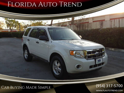 2011 Ford Escape for sale at Florida Auto Trend in Plantation FL