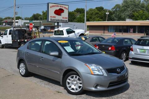 2012 Nissan Sentra for sale at GLADSTONE AUTO SALES    GUARANTEED CREDIT APPROVAL in Gladstone MO