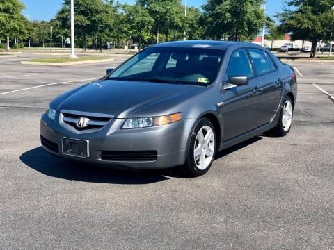 2004 Acura TL for sale at Supreme Auto Sales in Chesapeake VA