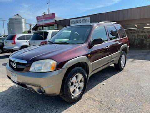 2001 Mazda Tribute for sale at WINDOM AUTO OUTLET LLC in Windom MN