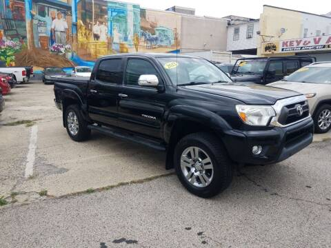 2013 Toyota Tacoma for sale at Key and V Auto Sales in Philadelphia PA