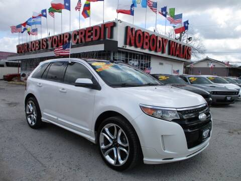 2013 Ford Edge for sale at Giant Auto Mart 2 in Houston TX