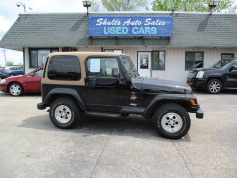1997 Jeep Wrangler for sale at SHULTS AUTO SALES INC. in Crystal Lake IL