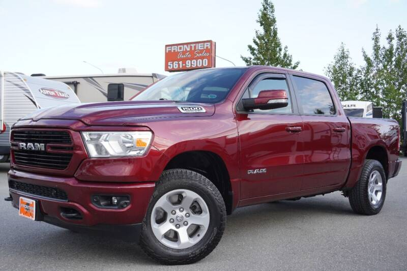 2019 RAM Ram Pickup 1500 for sale at Frontier Auto & RV Sales in Anchorage AK
