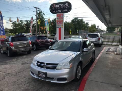 2011 Dodge Avenger for sale at i3Motors in Baltimore MD