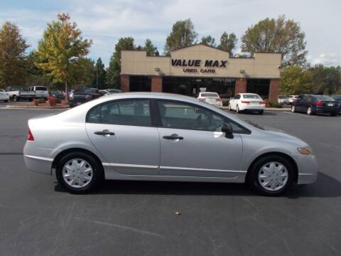 2010 Honda Civic for sale at ValueMax Used Cars in Greenville NC