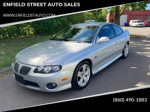 2004 Pontiac GTO for sale at ENFIELD STREET AUTO SALES in Enfield CT