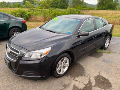 2013 Chevrolet Malibu for sale at Hillside Motors in Campbell NY