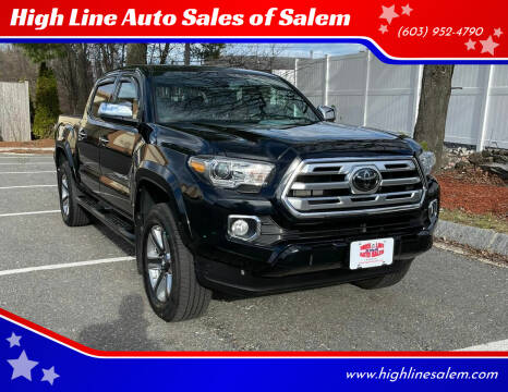 2018 Toyota Tacoma for sale at High Line Auto Sales of Salem in Salem NH