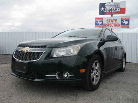 2014 Chevrolet Cruze for sale at Texas Country Auto Sales LLC in Austin TX