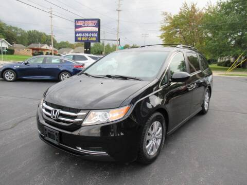 2014 Honda Odyssey for sale at Lake County Auto Sales in Painesville OH