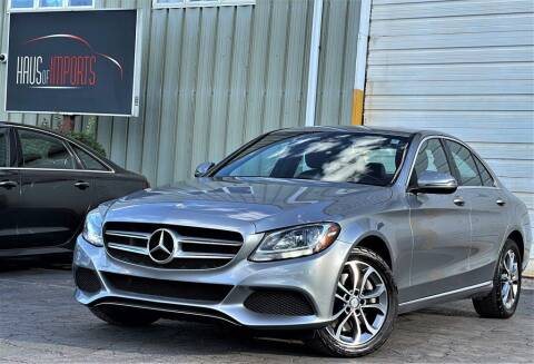 2016 Mercedes-Benz C-Class for sale at Haus of Imports in Lemont IL