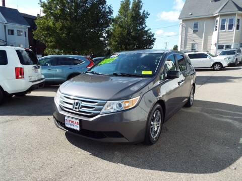 2013 Honda Odyssey for sale at FRIAS AUTO SALES LLC in Lawrence MA