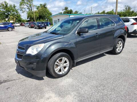 2012 Chevrolet Equinox for sale at Jamrock Auto Sales of Panama City in Panama City FL