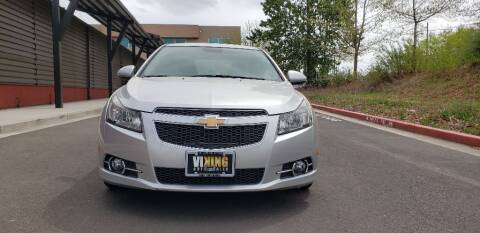 2012 Chevrolet Cruze for sale at VIking Auto Sales LLC in Salem OR