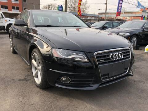 2012 Audi A4 for sale at Exotic Automotive Group in Jersey City NJ