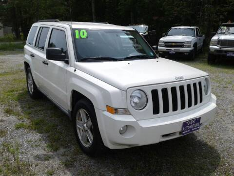 2010 Jeep Patriot for sale at Quest Auto Outlet in Chichester NH