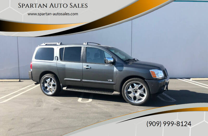 2007 Nissan Armada for sale at Spartan Auto Sales in Upland CA