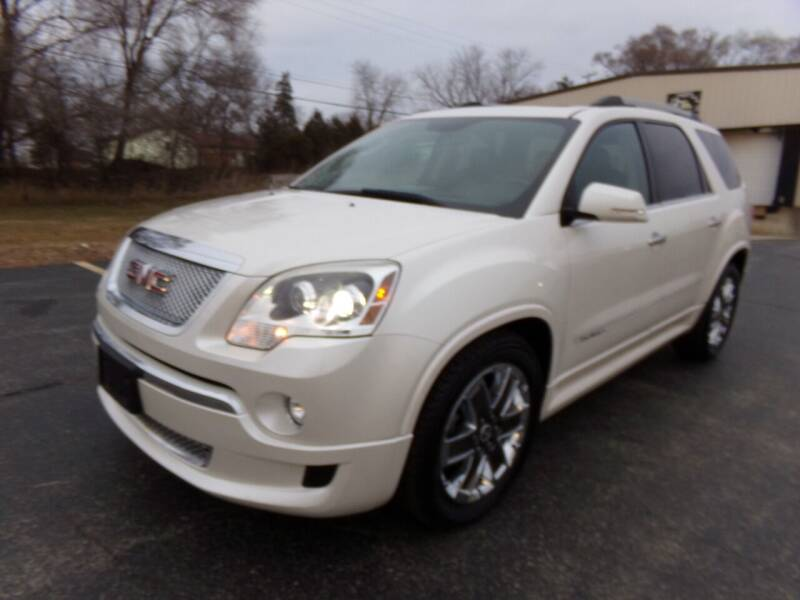 2011 GMC Acadia for sale at Rose Auto Sales & Motorsports Inc in McHenry IL