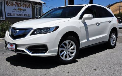 2016 Acura RDX for sale at AMC Auto Sales, Inc. in Fremont CA