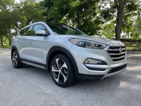 2018 Hyundai Tucson for sale at DELRAY AUTO MALL in Delray Beach FL