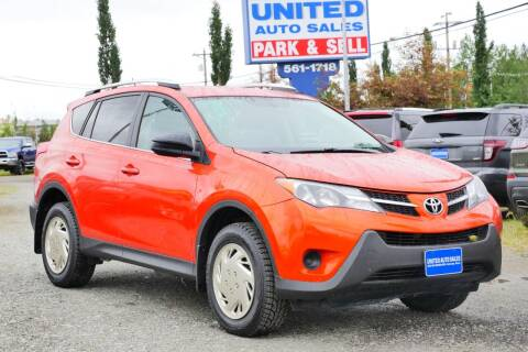 2015 Toyota RAV4 for sale at United Auto Sales in Anchorage AK