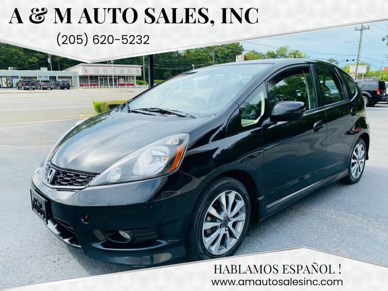 2012 Honda Fit for sale at A & M Auto Sales, Inc in Alabaster AL