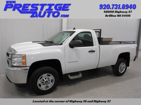 2013 Chevrolet Silverado 2500HD for sale at Prestige Auto Sales in Brillion WI