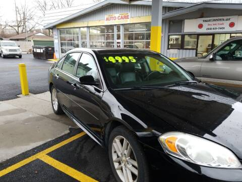 2012 Chevrolet Impala for sale at VALLEY IMPORTS LLC in Cincinnati OH