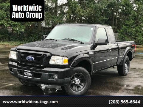 2007 Ford Ranger for sale at Worldwide Auto Group in Auburn WA