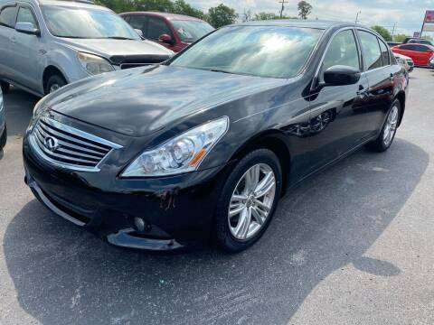 2013 Infiniti G37 Sedan for sale at Tennessee Auto Brokers LLC in Murfreesboro TN