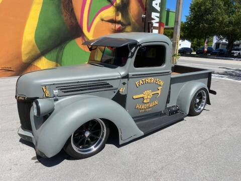 1946 Ford F-100 for sale at BIG BOY DIESELS in Ft Lauderdale FL