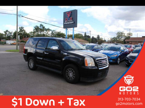2008 GMC Yukon for sale at Go2Motors in Redford MI