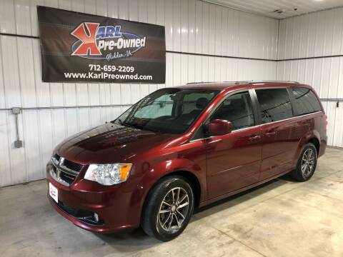 2017 Dodge Grand Caravan for sale at Karl Pre-Owned in Glidden IA