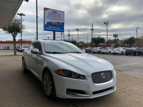 2013 Jaguar XF for sale at Magic Auto Sales in Dallas TX
