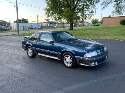 1987 Ford Mustang for sale at Dittmar Auto Dealer LLC in Dayton OH