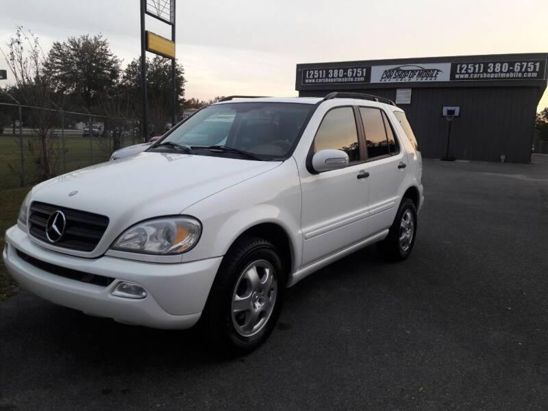2002 Mercedes-Benz M-Class AWD ML 320 4MATIC 4dr SUV - Mobile AL