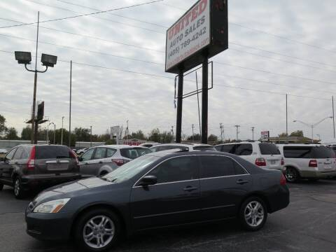 2006 Honda Accord for sale at United Auto Sales in Oklahoma City OK