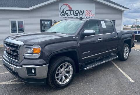 2015 GMC Sierra 1500 for sale at Action Motor Sales in Gaylord MI