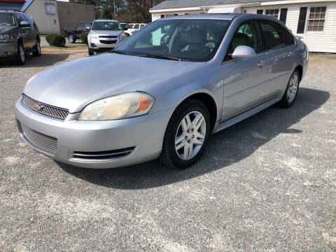 2012 Chevrolet Impala for sale at Robert Sutton Motors in Goldsboro NC