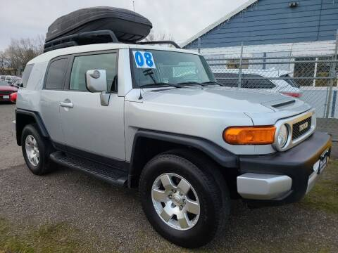 2008 Toyota FJ Cruiser for sale at Universal Auto Sales in Salem OR